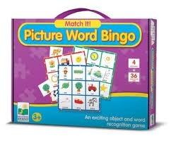 Match It: Picture Word Bingo