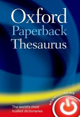 Oxford Paperback Thesaurus  (4th Revised ed.)