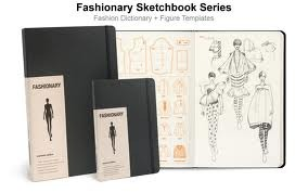 Fashionary  A5 Womens Sketchbook