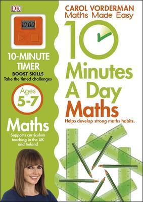 First Math Skills Ages 5-7 (10 Minutes a Day Maths)