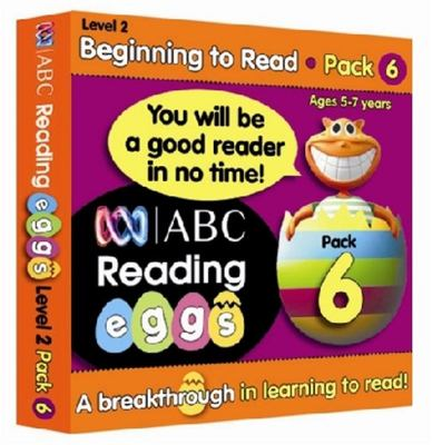 Beginning to Read Book Pack 6 - ABC Reading Eggs Level 2 (5-7 years)