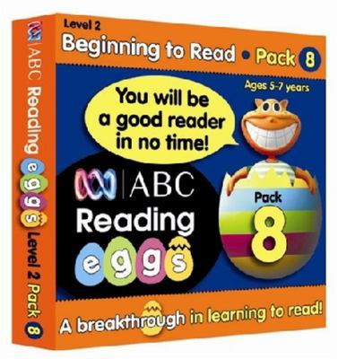 Beginning to Read Book Pack 8 - ABC Reading Eggs Level 2 (5-7 years)