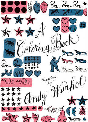 A Coloring Book Drawings by Andy Warhol
