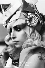 poster - Lady Gaga telephone