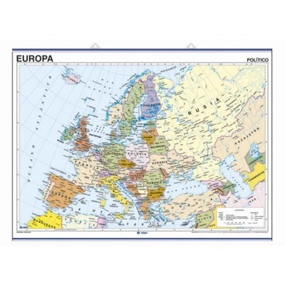 Map - Europe (political / physical)