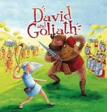 David and Goliath (My First Bible Stories)