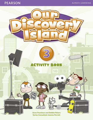 Our Discovery Island Level 3 (Film Studio) Activity Book