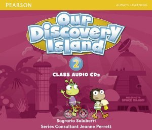 Our Discovery Island Level 2 (Space Island) Class Audio CDs
