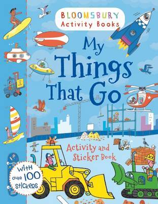 My Things That Go! Activity and Sticker Book