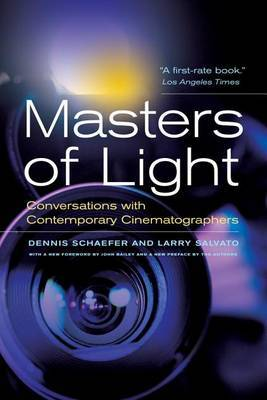 Masters of Light Conversations With Contemporary Cinematographers