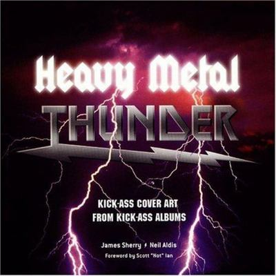 Heavy Metal Album Thunder Kick-ass Cover Art from Kick-ass AlbumsCovers