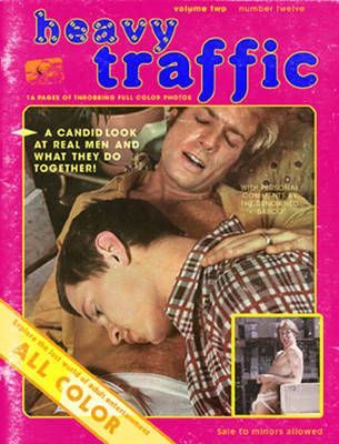 Heavy Traffic Porn Covers