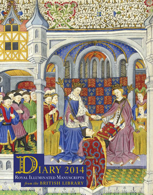 2014 Diary British Library Desk - Royal Illuminated Manuscripts