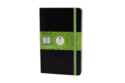Notebook Moleskine Large Squared Blk HB Evernote