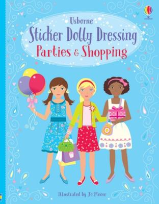 Parties and Shopping Girls Bind-up (Sticker Dolly Dressing)