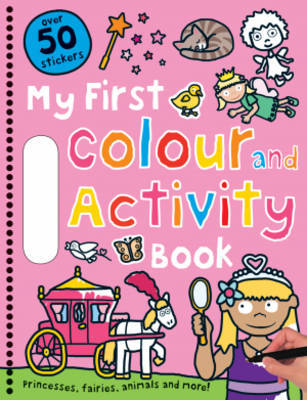 My First Colour and Activity Book Pink