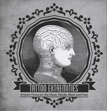 Tattoo Extremeties Artistic Focus On The Head, Hands, Neck, And Feet