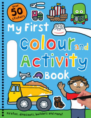 My First Colour and Activity Book Blue
