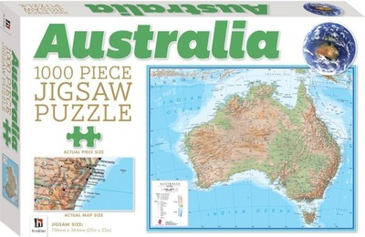Map Of Australia Jigsaw Puzzle.Puzzle Australia Map 1000 Piece Jigsaw Puzzle 52980