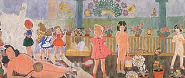 Henry Darger 172 At Jennie Richie Greeting Card