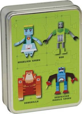 Make Your Own Robots Pop Up