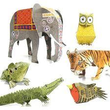 Cut Out and Make Menagerie