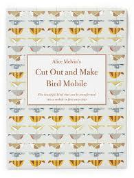 Cut Out and Make Bird Mobile