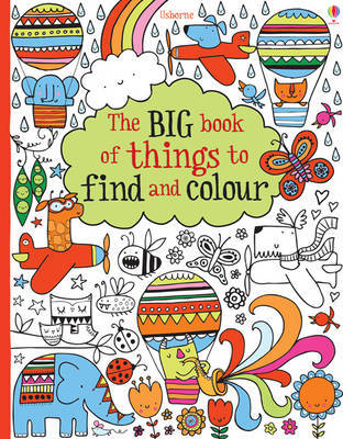 The Big Book of Lots of Things to Find and Colour (Usborne)