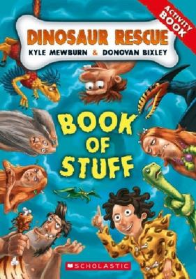 Dinosaur Rescue: Book of Stuff (Activity Book)