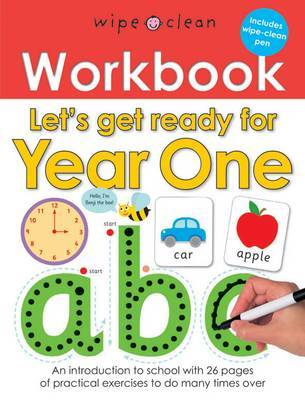Let's Get Ready for Year One (Wipe Clean Workbook)