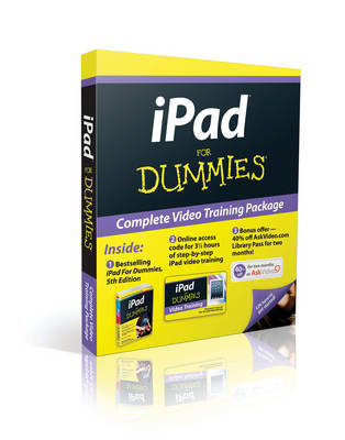 iPad For Dummies: Book + Online Video Training Bundle