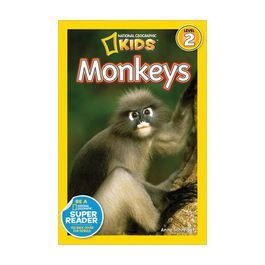 Monkeys (National Geographic Readers Level 2)