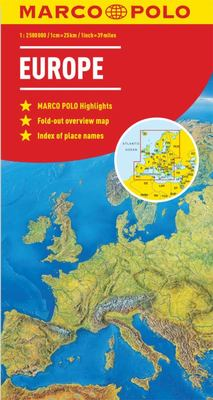 Europe Marco Polo Map