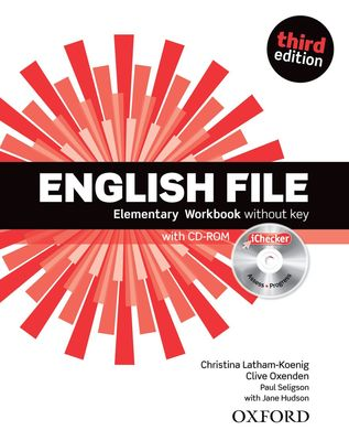 English File third edition Elementary Workbook with iChecker without key