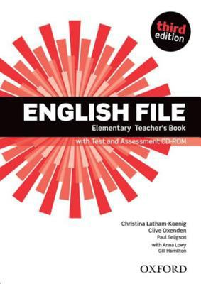 English File third edition Elementary Teacher's Book with Test and Assessment CD-ROM