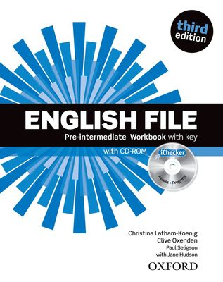 English File 3e Pre-Intermediate Workbook With Key And iChecker