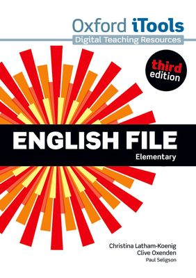 English File 3e Elementary iTools