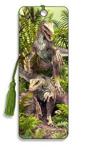 Dinosaur Bad Boys 3D Bookmark