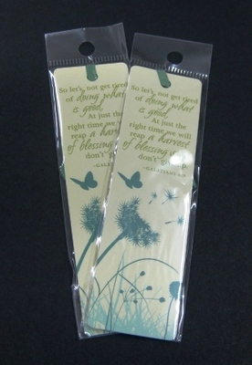 Bookmark - Dandelion doing what is good Galatians 6:9