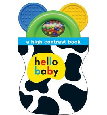 High Contrast Shaker Teether Book (Hello Baby)
