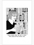 TeaTowel: Lost in a book