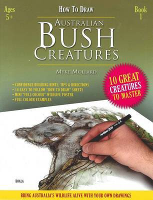 How to Draw Book of Australian Bush Creatures