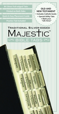 Bible Tabs - Silver Edge