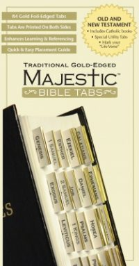 Bible Tabs - Traditional Gold Edged