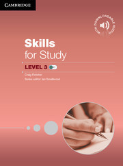 Skills for Study Level 3 Student Book (with Downloadable Audio)
