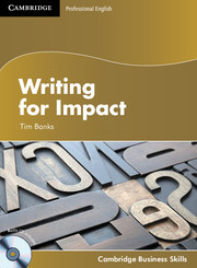 Writing for Impact (Audio CD included)