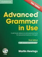 Advanced Grammar in Use 3rd Ed with answers and CD rom