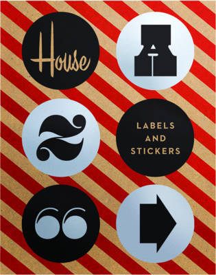 House Industries Labels & Stickers - Over 299 Typographic Stickers for Decor and Design