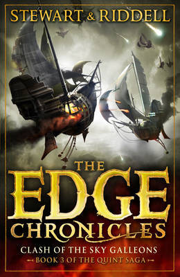 Clash of the Sky Galleons (Edge Chronicles Quint Saga #3)