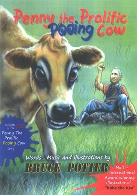 Penny the Prolific Pooing Cow (Book & CD)